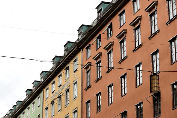 Viktigt att renovera fasad i Stockholm