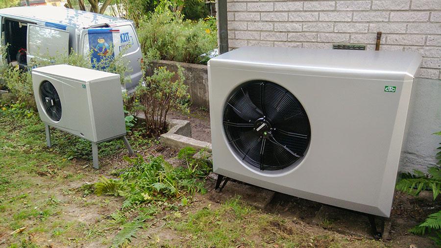 Installera Luft vatten värmepump Stockholm